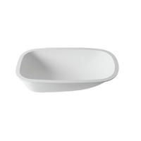 Wanna kompozytowa solid surface Porcelanosa Krion® Babybath 70X42 E
