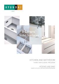 Umywalki i zlewozmywaki Hanex