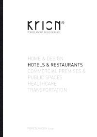 Krion hotele i restauracje