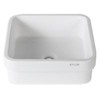 Umywalka łazienkowa solid surface Porcelanosa Krion® 3-way B603 40X40 SE