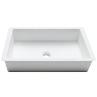 Umywalka łazienkowa solid surface Porcelanosa Krion® Basic BC B810 48X28 E