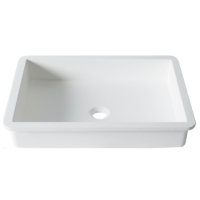 Umywalka łazienkowa solid surface Porcelanosa Krion® Basic BC B817 50X35 E