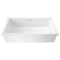 Umywalka łazienkowa solid surface Porcelanosa Krion® Basic BC B819 48X28 E