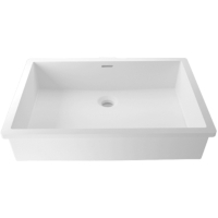 Umywalka łazienkowa solid surface Porcelanosa Krion® Basic BC B820 50X35 E