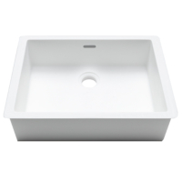 Umywalka łazienkowa solid surface Porcelanosa Krion® Basic BC B823 38X28 E
