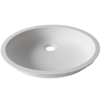 Umywalka łazienkowa solid surface Porcelanosa Krion® Basic BC D401 43X35 E