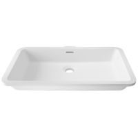 Umywalka łazienkowa solid surface Porcelanosa Krion® Basic BC D802 48X28 E