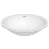 Umywalka łazienkowa solid surface Porcelanosa Krion® Slide B416 45X35 E