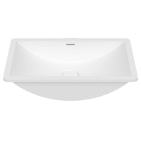 Umywalka łazienkowa solid surface Porcelanosa Krion® Slide B821 50X30 E