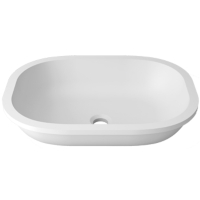 Umywalka łazienkowa solid surface Porcelanosa Krion® Unique B812 50X36 E