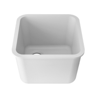 Zlewozmywak kuchenny solid surface Porcelanosa Krion® Basic BC L601 40X40 E