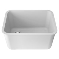 Zlewozmywak kuchenny solid surface Porcelanosa Krion® Basic BC L801 55X40 E
